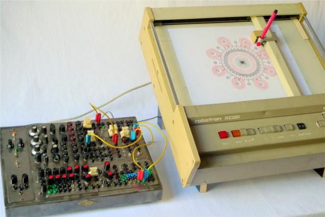 Mandalamat with Drawing Machine 1