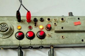 Monochord Control Panel