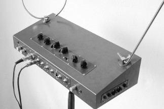 Theremin, right side view