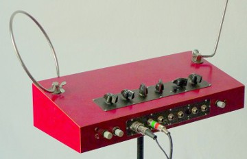 Theremin left side view