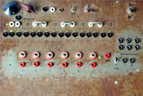 Rhythm Machine, Control Panel