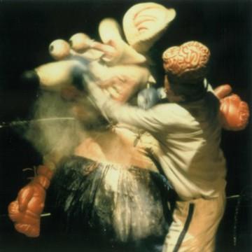 Mausi Boxkampf
